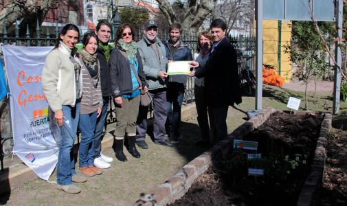 Vicente López ya posee la primera Huerta Urbana piloto