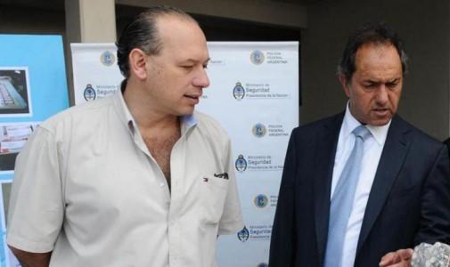 Scioli coincidió con Berni sobre situación de delincuentes extranjeros