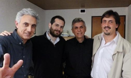 Piantino y Gianella en reunión de trabajo con Carlos Raimundi