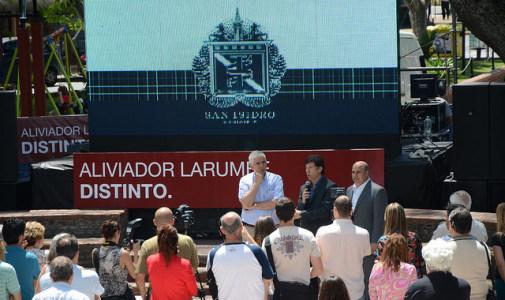 Más obras hidráulicas en San Isidro: finalizan un aliviador