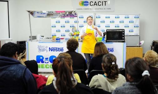 Tigre y Nestlé continúan con los talleres de capacitación