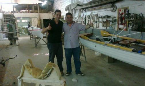 Nuevos botes para la Escuela Municipal de Remo