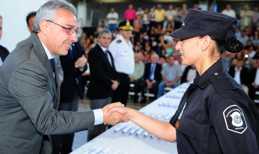 Egresó la primera camada de la policía descentralizada de Tigre