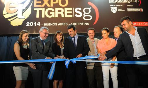 """Con más de 200 expositores se inauguró """"Expo Tigre 2014"""""""