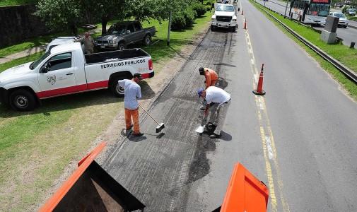 Comenzó un plan integral de renovación en los principales caminos de Tigre
