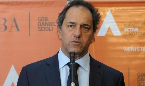 """Scioli destacó el secuestro de casi 90 kilos de cocaína en operativo """"ceviche blanco"""""""