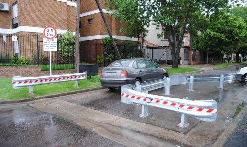 Incorporan limitadores de giro para transporte pesado
