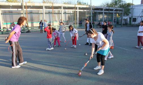 Cierre anual de las Escuelas Municipales de Hockey en San Isidro