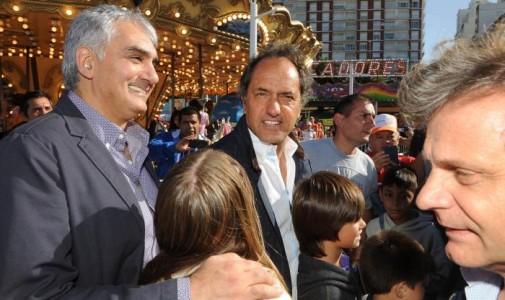 """Scioli: """"Siento la responsabilidad de volver a llevar al triunfo al FpV"""""""