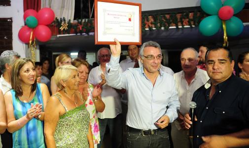 Gran festejo del Movimiento Solidario Rincón para despedir el año