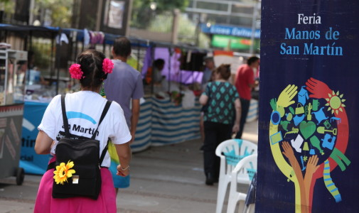 Llega la Feria de Navidad Manos de San Martín