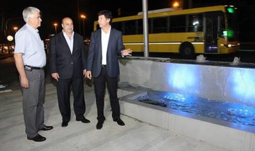 Posse inauguró el primer tramo del renovado ingreso a San Isidro